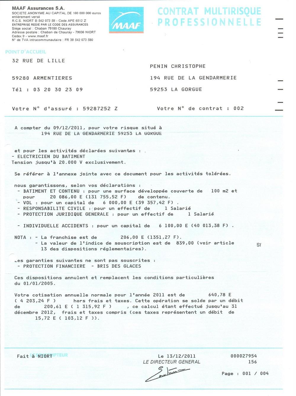 Electricien Garantie Decennale Lille Hazebrouck Bethune Penin